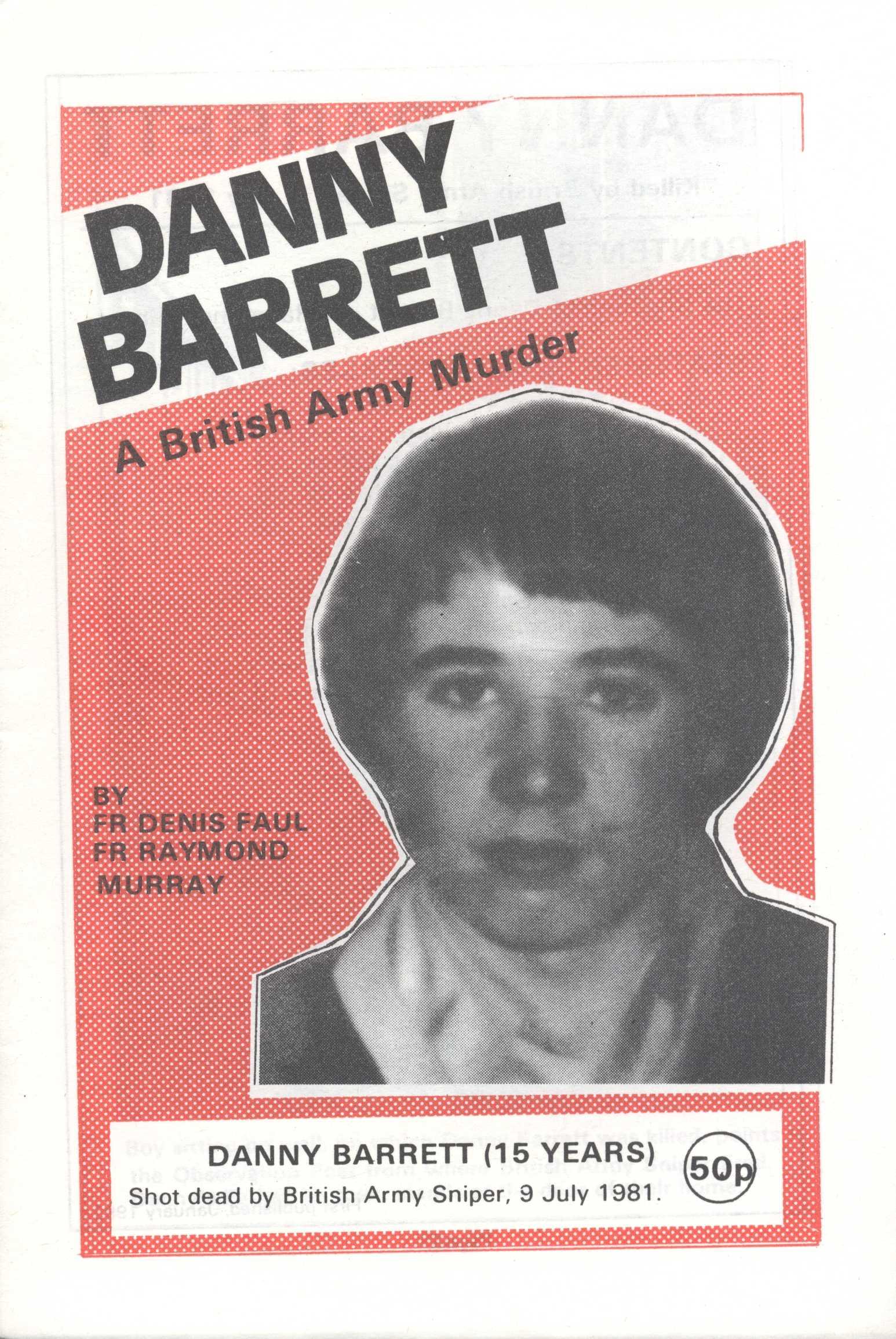 danny barrett a british army murder